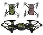 Skin Decal Wrap 2 Pack for DJI Ryze Tello Drone WraptorCamo Old School Camouflage Camo Army DRONE NOT INCLUDED