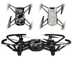 Skin Decal Wrap 2 Pack for DJI Ryze Tello Drone Electrify White DRONE NOT INCLUDED