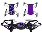 Skin Decal Wrap 2 Pack for DJI Ryze Tello Drone Electrify Purple DRONE NOT INCLUDED