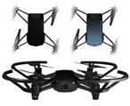 Skin Decal Wrap 2 Pack for DJI Ryze Tello Drone Solids Collection Color Black DRONE NOT INCLUDED