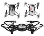 Skin Decal Wrap 2 Pack for DJI Ryze Tello Drone Lightning White DRONE NOT INCLUDED