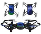 Skin Decal Wrap 2 Pack for DJI Ryze Tello Drone Alecias Swirl 01 Blue DRONE NOT INCLUDED