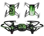 Skin Decal Wrap 2 Pack for DJI Ryze Tello Drone Alecias Swirl 02 Green DRONE NOT INCLUDED
