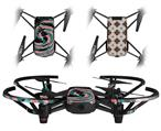 Skin Decal Wrap 2 Pack for DJI Ryze Tello Drone Alecias Swirl 02 DRONE NOT INCLUDED