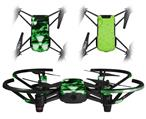 Skin Decal Wrap 2 Pack for DJI Ryze Tello Drone Radioactive Green DRONE NOT INCLUDED