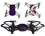 Skin Decal Wrap 2 Pack for DJI Ryze Tello Drone Abstract 01 Purple DRONE NOT INCLUDED