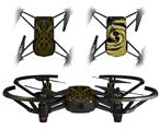 Skin Decal Wrap 2 Pack for DJI Ryze Tello Drone Abstract 01 Yellow DRONE NOT INCLUDED