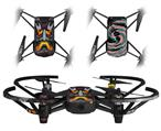 Skin Decal Wrap 2 Pack for DJI Ryze Tello Drone Tiki God 01 DRONE NOT INCLUDED