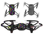 Skin Decal Wrap 2 Pack for DJI Ryze Tello Drone Crazy Dots 01 DRONE NOT INCLUDED
