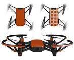 Skin Decal Wrap 2 Pack for DJI Ryze Tello Drone Solids Collection Burnt Orange DRONE NOT INCLUDED