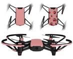Skin Decal Wrap 2 Pack for DJI Ryze Tello Drone Solids Collection Pink DRONE NOT INCLUDED