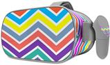 Decal style Skin Wrap compatible with Oculus Go Headset - Zig Zag Colors 04 (OCULUS NOT INCLUDED)
