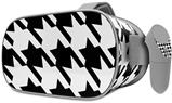 Decal style Skin Wrap compatible with Oculus Go Headset - Houndstooth Black (OCULUS NOT INCLUDED)