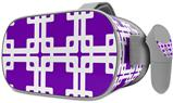 Decal style Skin Wrap compatible with Oculus Go Headset - Boxed Purple (OCULUS NOT INCLUDED)