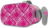 Decal style Skin Wrap compatible with Oculus Go Headset - Wavey Fushia Hot Pink (OCULUS NOT INCLUDED)