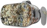 Decal style Skin Wrap compatible with Oculus Go Headset - Marble Granite 05 Speckled (OCULUS NOT INCLUDED)