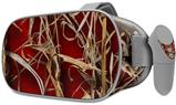 Decal style Skin Wrap compatible with Oculus Go Headset - WraptorCamo Grassy Marsh Camo Red (OCULUS NOT INCLUDED)