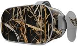 Decal style Skin Wrap compatible with Oculus Go Headset - WraptorCamo Grassy Marsh Camo Dark Gray (OCULUS NOT INCLUDED)