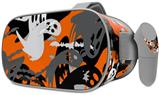 Decal style Skin Wrap compatible with Oculus Go Headset - Halloween Ghosts (OCULUS NOT INCLUDED)