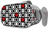 Decal style Skin Wrap compatible with Oculus Go Headset - XO Hearts (OCULUS NOT INCLUDED)