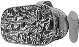 Decal style Skin Wrap compatible with Oculus Go Headset - Aluminum Foil (OCULUS NOT INCLUDED)