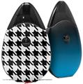 Skin Decal Wrap 2 Pack compatible with Suorin Drop Houndstooth Black VAPE NOT INCLUDED