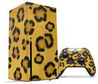 WraptorSkinz Skin Wrap compatible with the 2020 XBOX Series X Console and Controller Leopard Skin (XBOX NOT INCLUDED)