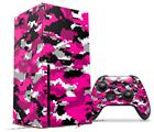 WraptorSkinz Skin Wrap compatible with the 2020 XBOX Series X Console and Controller WraptorCamo Digital Camo Hot Pink (XBOX NOT INCLUDED)