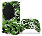 WraptorSkinz Skin Wrap compatible with the 2020 XBOX Series S Console and Controller WraptorCamo Digital Camo Green (XBOX NOT INCLUDED)