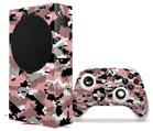 WraptorSkinz Skin Wrap compatible with the 2020 XBOX Series S Console and Controller WraptorCamo Digital Camo Pink (XBOX NOT INCLUDED)