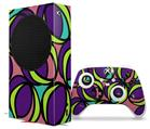 WraptorSkinz Skin Wrap compatible with the 2020 XBOX Series S Console and Controller Crazy Dots 01 (XBOX NOT INCLUDED)