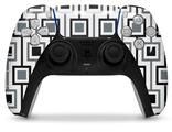 WraptorSkinz Skin Wrap compatible with the Sony PS5 DualSense Controller Squares In Squares (CONTROLLER NOT INCLUDED)