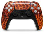 WraptorSkinz Skin Wrap compatible with the Sony PS5 DualSense Controller Fractal Fur Cheetah (CONTROLLER NOT INCLUDED)