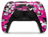 WraptorSkinz Skin Wrap compatible with the Sony PS5 DualSense Controller WraptorCamo Digital Camo Hot Pink (CONTROLLER NOT INCLUDED)