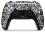 WraptorSkinz Skin Wrap compatible with the Sony PS5 DualSense Controller Aluminum Foil (CONTROLLER NOT INCLUDED)