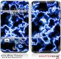 iPod Touch 2G & 3G Skin Kit Electrify Blue