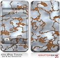 iPod Touch 2G & 3G Skin Kit Rusted Metal