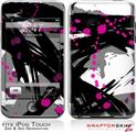 iPod Touch 2G & 3G Skin Kit Abstract 02 Pink