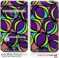 iPod Touch 2G & 3G Skin Kit Crazy Dots 01