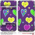 iPod Touch 2G & 3G Skin Kit Crazy Hearts