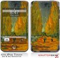 iPod Touch 2G & 3G Skin Kit Vincent Van Gogh Alyscamps