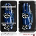 iPod Touch 2G & 3G Skin Kit 2010 Camaro RS Blue