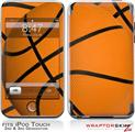 iPod Touch 2G & 3G Skin Kit Basketball
