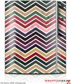 Sony PS3 Skin Zig Zag Colors 02