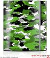 Sony PS3 Skin WraptorCamo Digital Camo Green