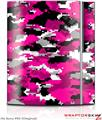 Sony PS3 Skin WraptorCamo Digital Camo Hot Pink