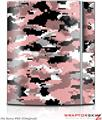 Sony PS3 Skin WraptorCamo Digital Camo Pink