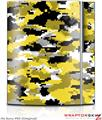 Sony PS3 Skin WraptorCamo Digital Camo Yellow