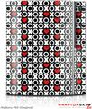 Sony PS3 Skin XO Hearts
