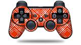 Wavey Red - Decal Style Skin fits Sony PS3 Controller (CONTROLLER NOT INCLUDED)